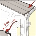 RAIN GUARD PLUS - 20m 04629-01 le metre