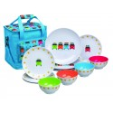 SET DE 12 PCS CAMPER SMILES + SAC ISOTHERME