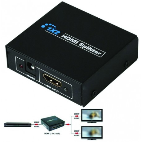 REPARTITEUR HDMI 3D AVEC AMPLIFICATEUR