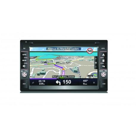 GPS 2 DIN 95971020+ CADRE DUCATO + CAMERA PREMIUM POUR VEHICULE PRECABLE