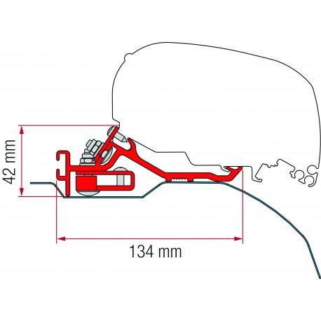 KIT DUCATO JUMPER BOXER H2 3 PIECES F65 F80 APRES 2006 POUR L2 L3
