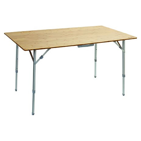 TABLE CAMPKING S PLIANTE PLATEAU BAMBOU 80 x 60 x 65