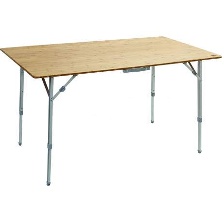 TABLE CAMPING M PLIANTE PLATEAU BAMBOU 100 x 72 x 70