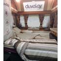 DUVALAY 66 COMPACT - Coffee Cream (66x190x2,5)