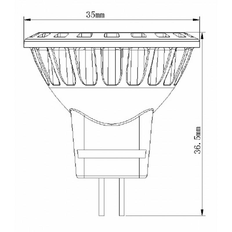 ampoule led mr11 gu4 bc alpa accessoires accessoires loisirs et plein air. Black Bedroom Furniture Sets. Home Design Ideas