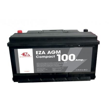 BATTERIE AGM EZA 100A COMPACT