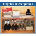 ETAGERE TELESCOPIQUE